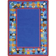 Children of Many Cultures Classroom Rug (7'8
