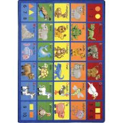 Animal Phonics Classroom Rug (7'8