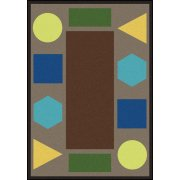 Sitting Shapes Classroom Rug (10'9