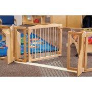 KYDZ Suite Wooden Preschool Safety Gate