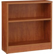 "High Pressure Laminate Double-Sided Bookcase (36""Wx36""H)"