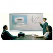 Lightning Projection Magnetic Whiteboard (10'X4')