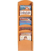 Waterfall Magazine Racks with 7 Pockets
