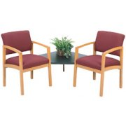 Lenox Grade 2 Chairs with Corner Table