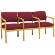 Lenox Grade 2 Seating with Arms (3 Seater)