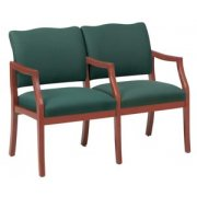 Franklin Reception Seating - Center Arms (2 Seater Sofa)