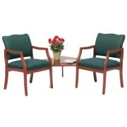 Franklin Reception Arm Chairs w/ Corner Table