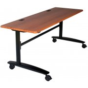 Lumina Flipper Table  - Black Cherry Top (72