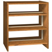 42in Base w/6 Shelves for Double Faced Shelf Unit