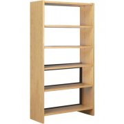 72in. Base w/5 Shelves for Single Faced Shelf Unit