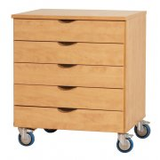 Mobile 5-Drawer Unit (5-Drawer)