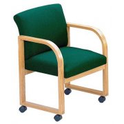 Contour Full Back Guest Chair - Grade 2 - Casters