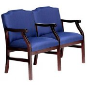 Traditional Grade 2 Seating - Center Arms (2 Seater)
