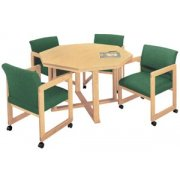 Ergo Octagonal Table (48