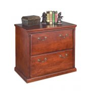 Americana 2-Drawer Lateral File Cabinet - Cherry