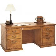 Americana Double Pedestal Office Desk