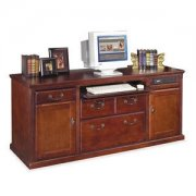 Americana Office Computer Storage Credenza - Cherry