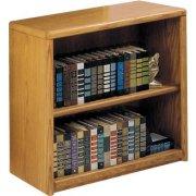 Contemporary Oak Veneer Bookcase (36
