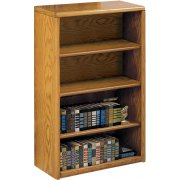 Contemporary Bookcase with 3 Shelves (3'Wx4'H)