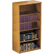 Contemporary Oak Veneer Bookcase (3'Wx5'H)