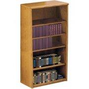 Contemporary Oak Veneer Bookcase (3'Wx5'H)