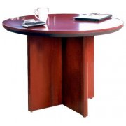 Veneer Round Conference Table (42