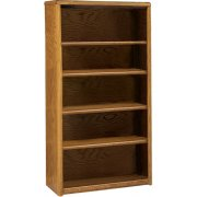 Contemporary Bookcase with 4 Shelves (3'Wx5'H)