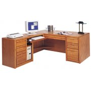Executive L-Shaped Office Desk w/Left Rtn.