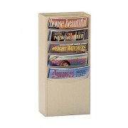 5-Pocket Wall Mounted Literature Organizer