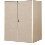 Instrument Locker - Compartment & Shelf, Solid Doors, 61