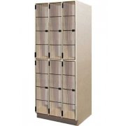 Acoustic Guitar Storage - 6 Compartments, Grille Doors