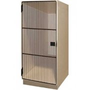 Instrument Locker - 1 Large Cabinet, Grille Doors
