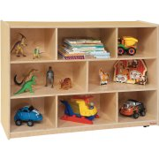 Maple Classroom Cubby Storage (48
