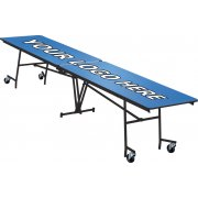 Stow-Away Mobile Rectangle Table (145
