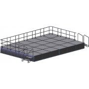 Transfold Rectangular Stage Set (12' x 20')