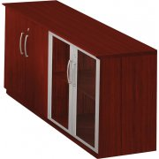 Medina Low Office Storage Cabinet with Doors