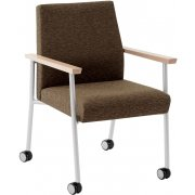 Mystic Guest Chair, 400lbs. Capacity with Casters