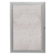 Outdoor Enclosed Vinyl Tack Board (1-Door 30