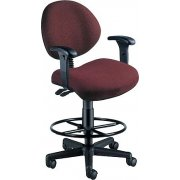 Multi-Shift Office Stool with Arms