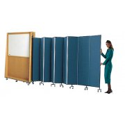 Portable Classroom Partitions with Whiteboard