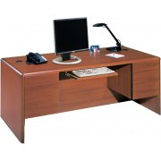 Park Lane Comp Credenza with Pullout Keybrd