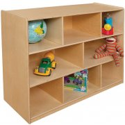 Wooden Classroom Cubby Storage - 8 Section (48