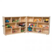 Fold n' Lock Classroom Storage - 16 Cubbies (48