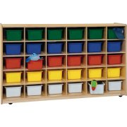 30-Tray Storage with Colored Trays