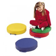 Round Floor Cushions Set of 4