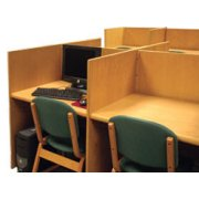 Panel Based Double Faced Carrel, Starter (38