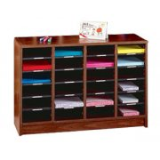 24 Compartment Radius Edge Literature Organizer