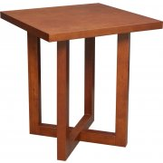 Chloe Solid Wood Square End Table