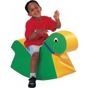 Green Soft Play Rocking Animal