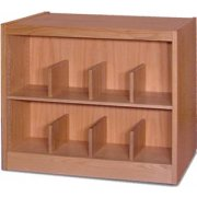 Book Shelving - 2 Shelf Single Faced Starter